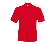 Червена тениска с яка тип поло