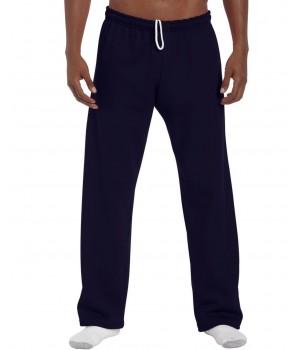 Ватиран спортен панталон Gildan т.син