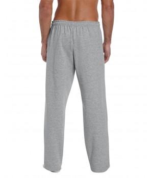 Heavy blend open bottom pants color grey