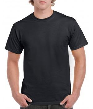 Черна мъжка тениска Gildan