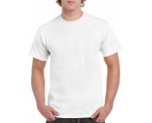 Бяла мъжка тениска Gildan