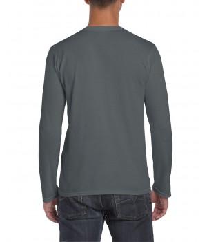 Мъжка, тениска Gildan дълъг ръкав цвят графит