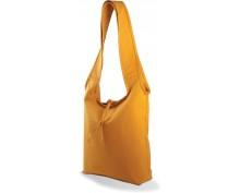 Оранжева пазарска чанта с дълги дръжки