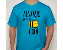 Мъжка тениска с щампа 19