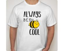 Тениска с щампа  Be cool