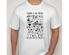 Мъжка тениска с щампа 18