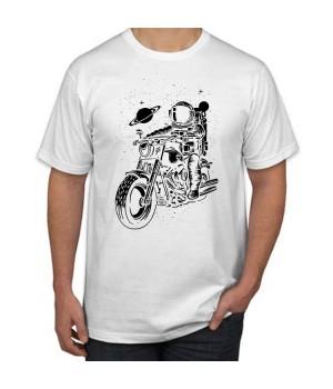 Мъжка тениска с щампа Astronaut Rider