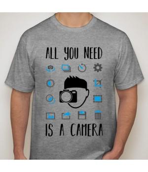 Мъжка тениска с щампа 01