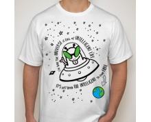 Тениска с щампа  Univers