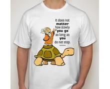Тениска с щампа  It doesn't matter