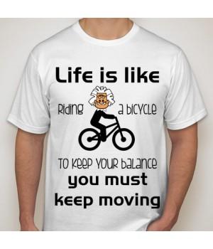 Мъжка тениска с щампа 13