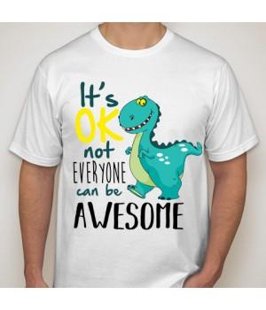 Тениска с щампа  Awesome