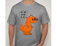 Мъжка тениска с щампа 07
