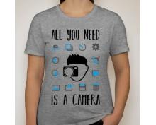 Дамска тениска с щампа 03