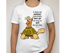 Дамска тениска с щампа 11