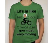 Lady life style  t-shirt 09