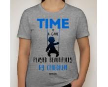 Дамска тениска с щампа 010