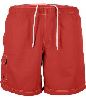 Червени, мъжки, къси панталонки
