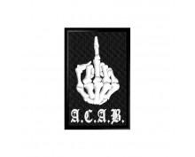 Нашивка A.C.A.B. - 006