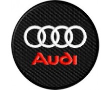 Audi embroidered patch