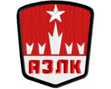 АЗЛК embroidered patch