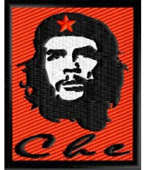 Che Guevara embroidered patch