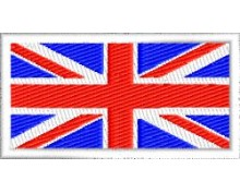 GB Flag embroidered patch