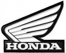 HONDA embroidered patch