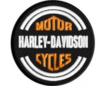Harley embroidered patch