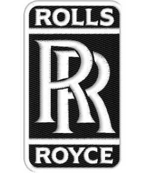 Rols Roys embroidered patch