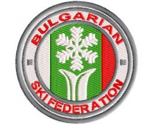 BG Ski Federation embroidered patch