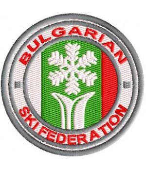 Нашивка BG Ski Federation