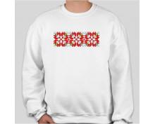 Пуловер с шевица 001