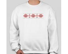 Пуловер с шевица 010