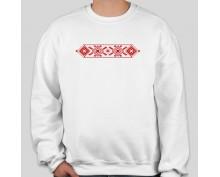 Пуловер с шевица 011