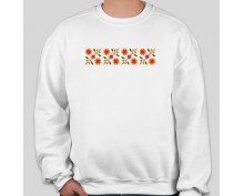 Пуловер с шевица 012