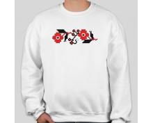 Пуловер с шевица 013