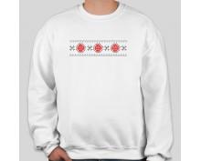 Пуловер с шевица 014