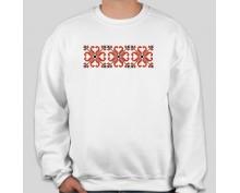 Пуловер с шевица 002