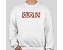Пуловер с шевица 003