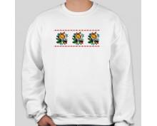 Пуловер с шевица 008