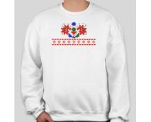 Пуловер с шевица 007