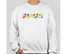Пуловер с шевица 009