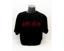 T-shirt with embroidered motives