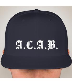Snapback hat A.C.A.B