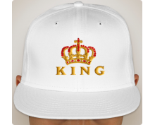 Snapback hat The king
