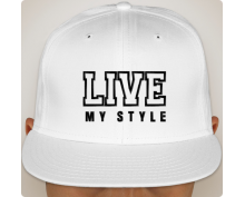 Snapback hat Live my style