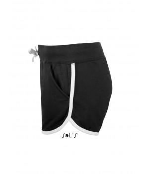 Черни, дамски къси панталонки Sol's