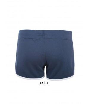 Тъмно сини, дамски къси панталонки Sol's