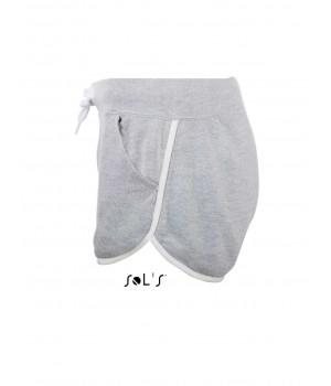 Светло сиви, дамски къси панталонки Sol's